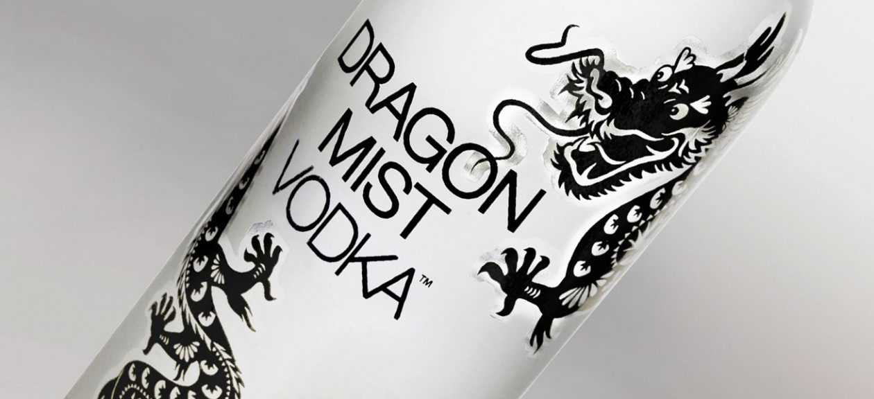 Dragon Mist Vodka from Vancouver area craft spirits producer, Dragon Mist Distillery in Surrey, BC
