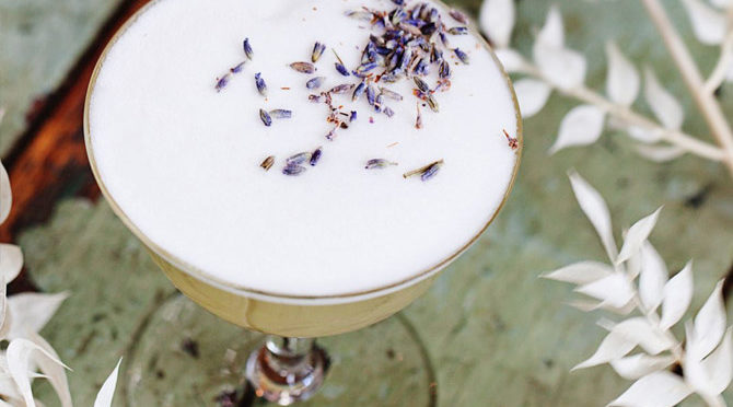 Golden Boar cocktail from Bao Bei in Vancouver's Chinatown features Dragon Mist Baijiu